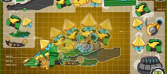 Игра Дино-робот Стегозавр