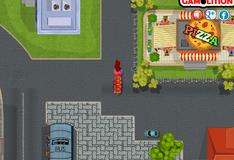 Срочная парковка пожарной машины
