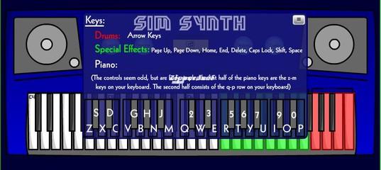 Игра Синтезатор Симов v1.0