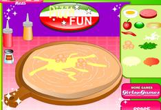 Веселье с пиццей