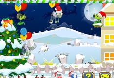Игра Рождественские растения против зомби