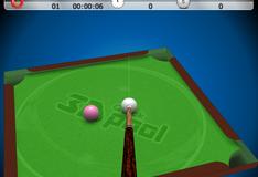 Игра Быстрый бильярд 3D