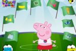 Играть бесплатно в Свинка Пеппа Чемпионка мира