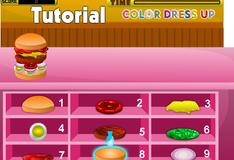 Игра Вкусный бургер