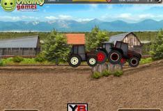 Гонки по ферме на тракторах