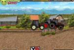 Игра Гонки по ферме на тракторах