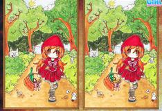 Игра Маленькая красная шапочка: отличия