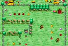 Игра Красная шапочка собирает урожай