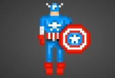 Игра Угадай супергероя по пикселям