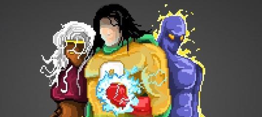 Угадай супергероя по пикселям