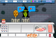 Игра Обслуживание в кафе для вампиров