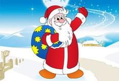 Дед Мороз. Собери пазл