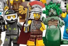 Игра Лего Минифигурки. Собери пазл