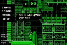 Игра Супер бойцы. Собери пазл