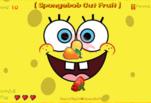 Игра Губка Боб режет фрукты