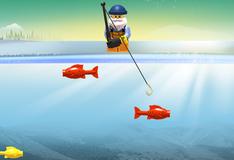 Игра Мини фигурки лего: ловля рыбы