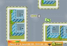 Игра Мистер Бин паркует автомобиль