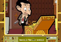 Игра Мистер Бин и сокровища