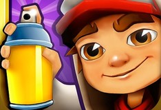 Игра Subway surfers. Собери пазл