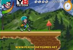 Игра Игра Юные титаны Гонка на велосипеде BMX