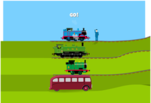 играйте в Гонки с Томасом и его друзьями