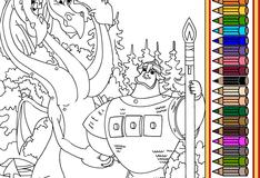 Змей Горыныч и Добрыня Никитич