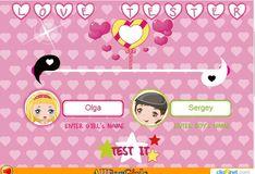 Игра Игра Гадание на любовь Любовный тестер
