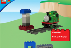 Игра Паровозик Томас строит водонапорную башню