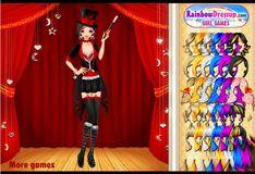 Игра Игра Одевалка - Леди Магия