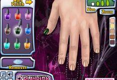 Игра Игра Эмо маникюр