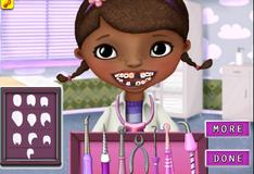 Доктор Плюшева у дантиста