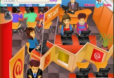 Игра Игра Поцелуи в интернет кафе