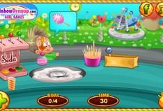 Игра Игра Детский день в кафе
