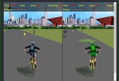Игра Игра на двоих: Гонки на велосипедах