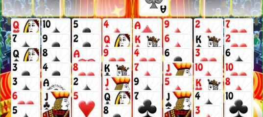 Игра Пасьянс Карты на арене