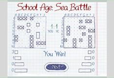 Игра Игра Школьное время Морской бой