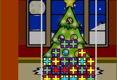 Игра Игра Рождественский тетрис