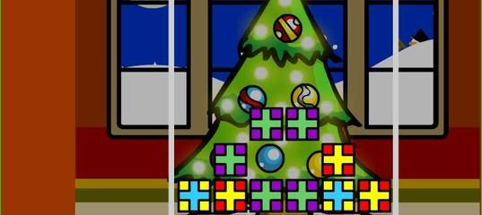 Игра Рождественский тетрис