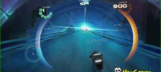Игра 3D Гонки будущего на мотоциклах