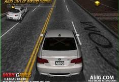 Игра Игра 3Д Гонки на автомобиле