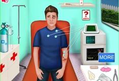 Игра Джастин в больнице
