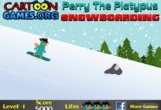 Игра Игра Перри Утконос Сноуборд