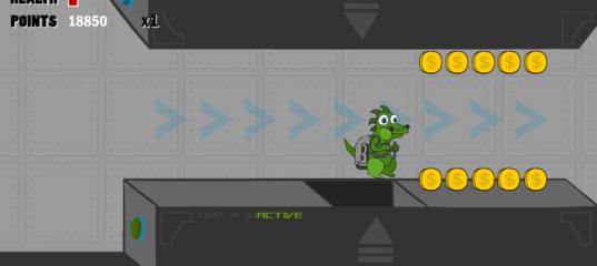 Игра Приключение динозавра Джеффа