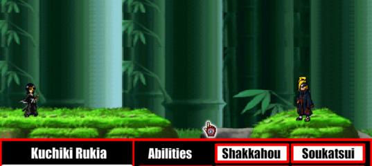 Игра Драка Блич против Наруто