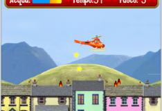 Игра Игра Пожарный Сэм: Вертолет - Сила пламени