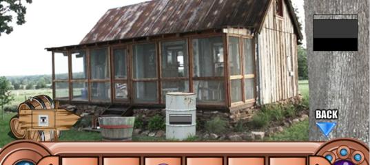 Игра Дикий Запад: Побег с сокровищами из дома