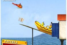 Игра Игра Пожарный Сэм: Надувная лодка