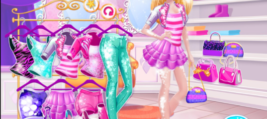 Игра Барби Модный бутик