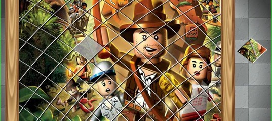 Игра Лего Индиана Джонс - Сортируйте мои плитки