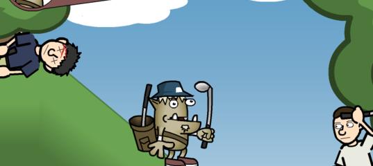 Игра Гэвин: Профессиональный гольф с гоблинами